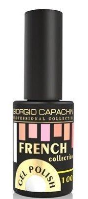 Купить GIORGIO CAPACHINI 100 гель-лак трехфазный для ногтей / French 7 мл, Белые