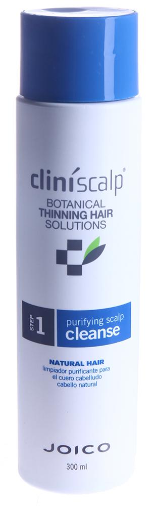 JOICO Шампунь очищающий для редеющих натуральных волос / Purifying Scalp Cleanse NH 300мл