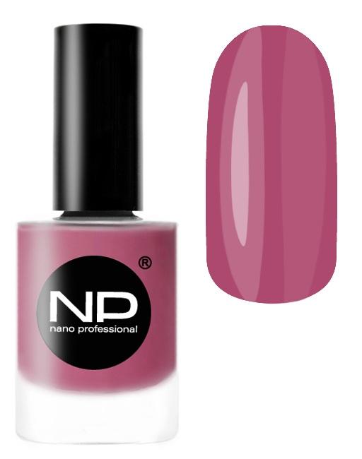 NANO PROFESSIONAL P-409 лак для ногтей, лиловый рассвет 15 мл