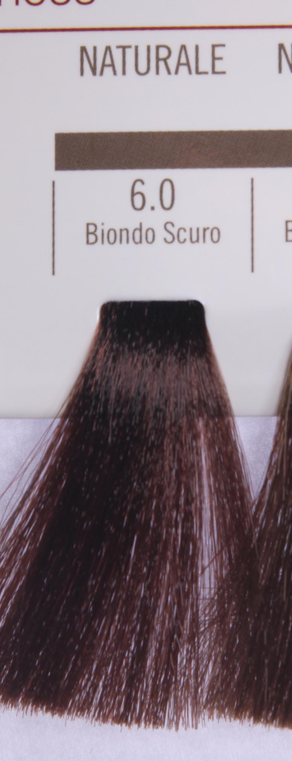 BAREX 6.0 краска для волос / PERMESSE 100млКраски<br>Оттенок: Темный блондин. Профессиональная крем-краска Permesse отличается низким содержанием аммиака - от 1 до 1,5%. Обеспечивает блестящий и натуральный косметический цвет, 100% покрытие седых волос, идеальное осветление, стойкость и насыщенность цвета до следующего окрашивания. Комплекс сертифицированных органических пептидов M4, входящих в состав, действует с момента нанесения, увлажняя волосы, придавая им прочность и защиту. Пептиды избирательно оседают в самых поврежденных участках волоса, восстанавливая и защищая их. Масло карите оказывает смягчающее и успокаивающее действие. Комплекс пептидов и масло карите стимулируют проникновение пигментов вглубь структуры волоса, придавая им здоровый вид, блеск и долговечность косметическому цвету. Активные ингредиенты:&amp;nbsp;Сертифицированные органические пептиды М4 - пептиды овса, бразильского ореха, сои и пшеницы, объединенные в полифункциональный комплекс, придающий прочность окрашенным волосам, увлажняющий и защищающий их. Сертифицированное органическое масло карите (масло ши) - богато жирными кислотами, экстрагируется из ореха африканского дерева карите. Оказывает смягчающий и целебный эффект на кожу и волосы, широко применяется в косметической индустрии. Масло карите защищает волосы от неблагоприятного воздействия внешней среды, интенсивно увлажняет кожу и волосы, т.к. обладает высокой степенью абсорбции, не забивает поры. Способ применения:&amp;nbsp;Крем-краска готовится в смеси с Молочком-оксигентом Permesse 10/20/30/40 объемов в соотношении 1:1 (например, 50 мл крем-краски + 50 мл молочка-оксигента). Молочко-оксигент работает в сочетании с крем-краской и гарантирует идеальное проявление краски. Тюбик крем-краски Permesse содержит 100 мл продукта, количество, достаточное для 2 полных нанесений. Всегда надевайте подходящие специальные перчатки перед подготовкой и нанесением краски. Подготавливайте смесь крем-краски и молочка-оксигента Permesse в неметаллическ