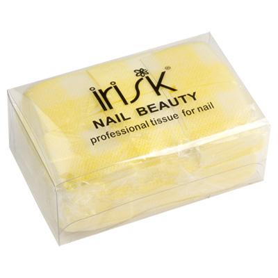 IRISK PROFESSIONAL Салфетки безворсовые 4*4 см, 05 желтые 750 шт