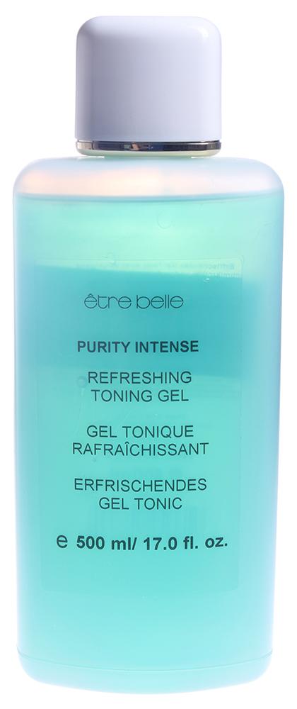 ETRE BELLE Гель очищающий мягкий для комб. склонной к воспалению кожи/ Pure Cleasing Gel Purity Intense 500млГели<br>Мягкий очищающий гель,специально разработанный для глубокого очищения кожи склонной к жирности и воспалениям. Высокое содержания глицерина и пантенола предотвращает пересушивающее воздействие средства на кожу. Салициловая кислота обеспечивает глубокое очищение пор, а также выраженный противовоспалительный эффект. После использования геля кожа чистая и свежая! Активные ингредиенты: глицерин, пантенол, салициловая кислота.Способ применения: небольшое количество геля вспенить с водой, нанести на кожу массажными движениями, остатки средства смыть водой.<br>