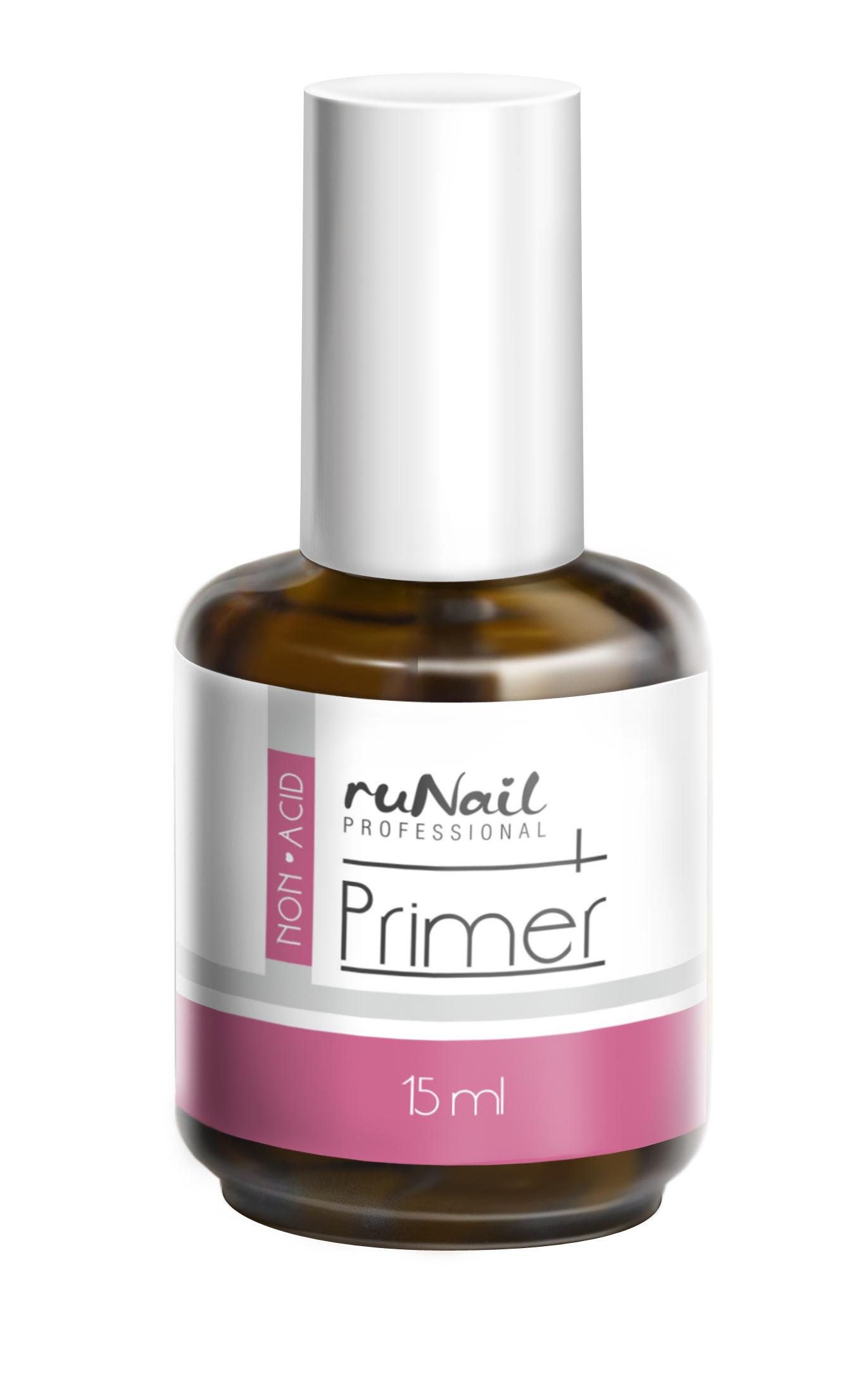 RuNail Праймер бескислотный 15 мл runail дизайн для ногтей ракушки 0284