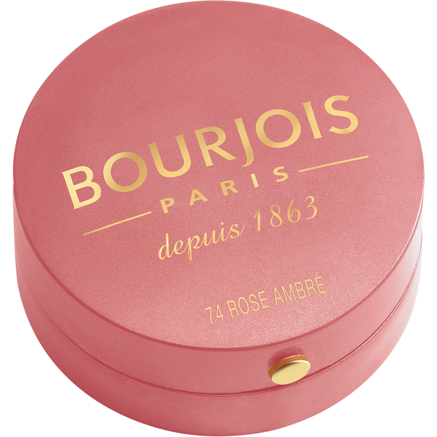 BOURJOIS Румяна для лица 74 / Blusher rose ambre - Румяна