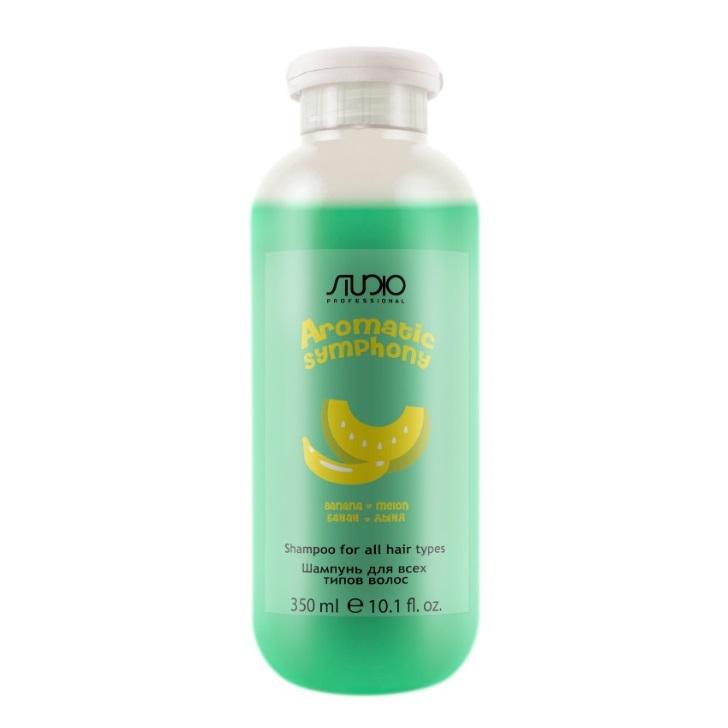 Купить KAPOUS Шампунь для всех типов волос Банан и дыня / Aromatic Symphony 350 мл