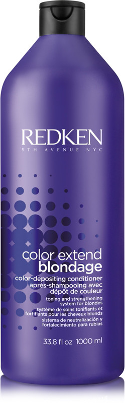 Купить REDKEN Кондиционер с ультрафиолетовым пигментом для тонирования и укрепления оттенков блонд Блондаж / COLOR EXTEND BLONDAGE 1000 мл