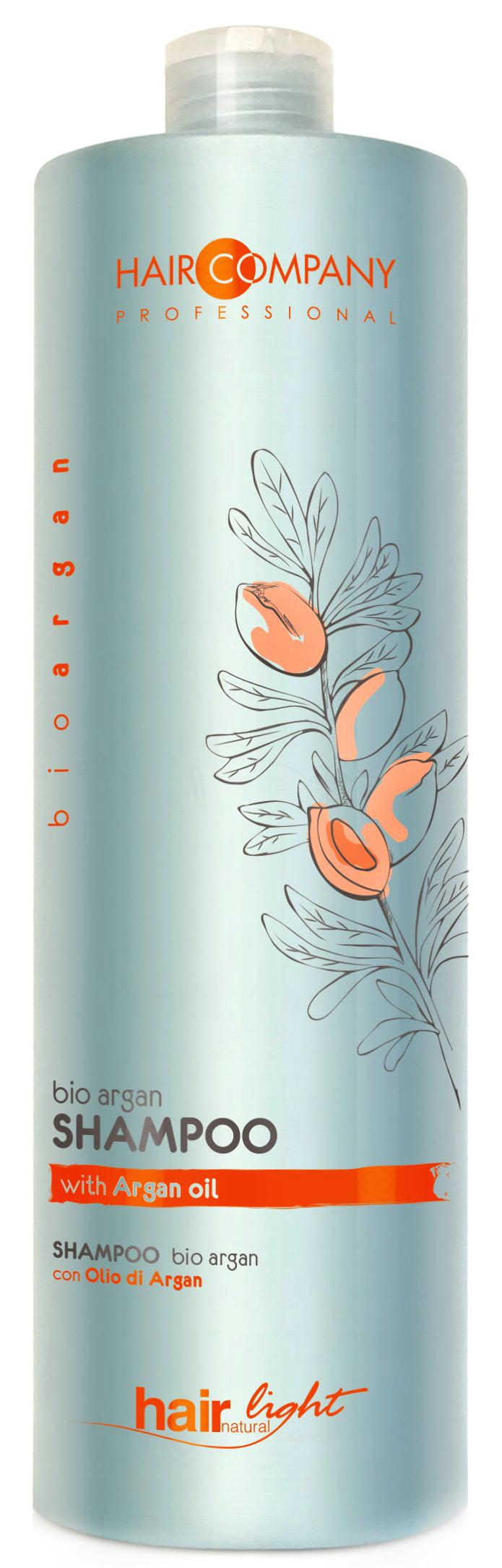 HAIR COMPANY Шампунь с био маслом арганы / HAIR LIGHT BIO ARGAN Shampoo 1000 мл.