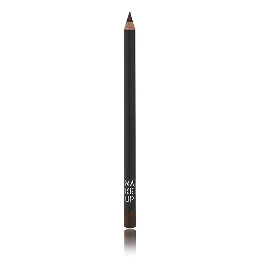 MAKE UP FACTORY Карандаш контурный устойчивый для глаз, 08 темный шоколад / Kajal Definer 1,48 г косметические карандаши make up factory карандаш для глаз устойчивый контурный kajal definer 35