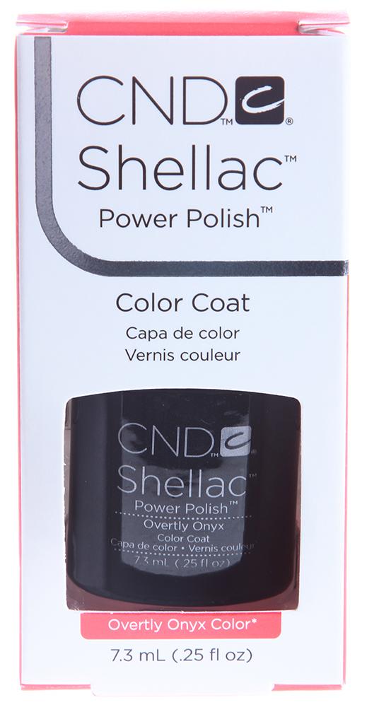 CND 049 покрытие гелевое Overtly Onyx / SHELLAC 7,3млГель-лаки<br>Цвет: Overtly Onyx Color   Shellac &amp;ndash; первый гибрид лака и геля, сочетающий в себе самые лучшие свойства профессиональных лаков для ногтей (простота наложения, яркий блеск, богатство цвета) и современных моделирующих гелей (отсутствие запаха, носибельность, нестираемость).   Носится как гель, выглядит как лак, снимается за считанные минуты, укрепляет и защищает ногти, гипоаллергенный, создан по формуле 3 FREE, не содержит дибутилфталата, толуола, формальдегида и его смол   все это Shellac!   Преимущества: 14 дней   время носки маникюра 2 минуты   время высыхания покрытия Зеркальный блеск и идеальная гладкость маникюра Не скалывается, не смазывается, не трескается Каждое покрытие представлено в непрозрачном флаконе, цвет которого абсолютно идентичен оттенку самого продукта. Флакон не скользит в руке, что делает процедуру невероятно легкой и приятной, а удобная кисточка позволяет нанести средство идеально ровно. Пошаговая инструкция.<br><br>Цвет: Черные<br>Виды лака: Глянцевые
