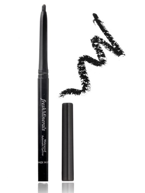 "FRESH MINERALS �������� �������������� ����������� ��� ��� ""Black"" / Waterproof Automatic Liner 0,8��"