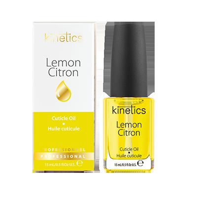KINETICS Масло увлажняющее кутикулу и ногтевую пластину Lemon (лимон) 15 мл