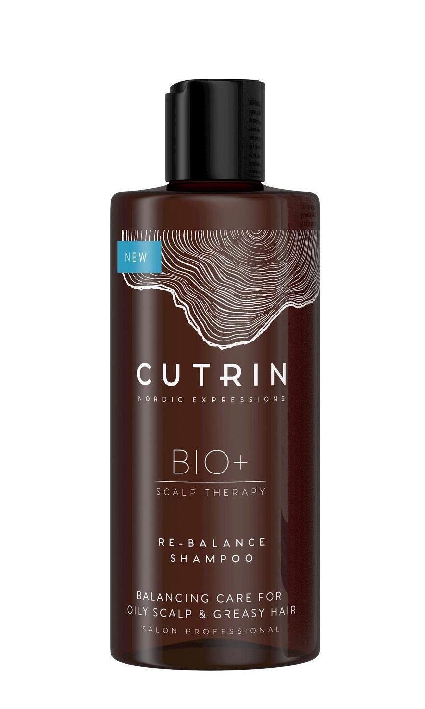 Купить CUTRIN Шампунь для жирной кожи головы / BIO+ 2019 RE-BALANCE 250 мл