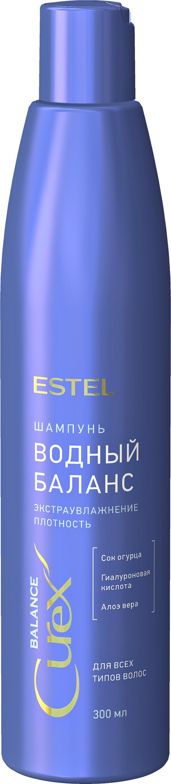 ESTEL PROFESSIONAL Шампунь для всех типов волос Водный баланс / CUREX BALANCE 300 мл