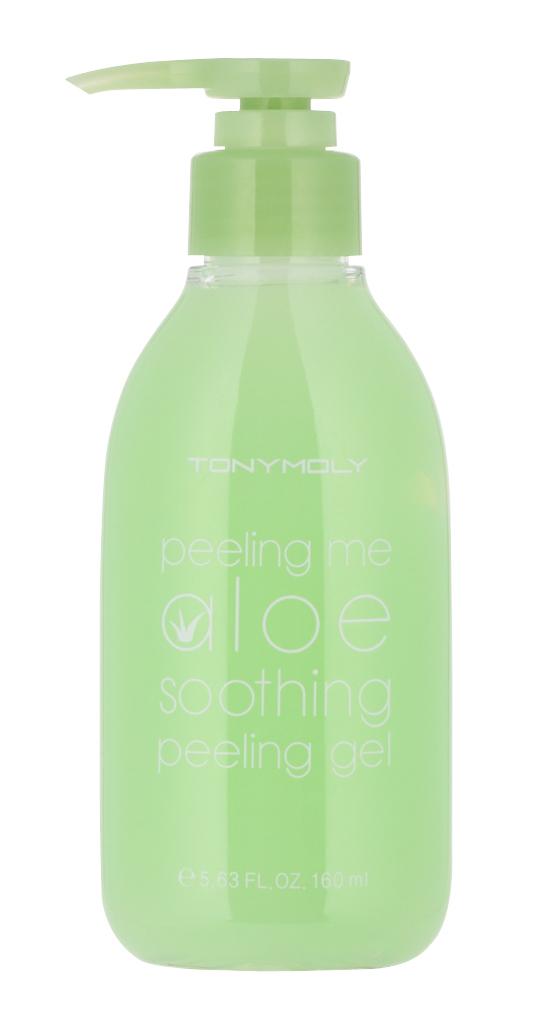 TONY MOLY Пилинг-гель / Peeling me Aloe Soothing Peeling Gel 160 мл declare восстанавливающий гель для кожи вокруг глаз с массажным эффектом perfect eye fluid 15 мл