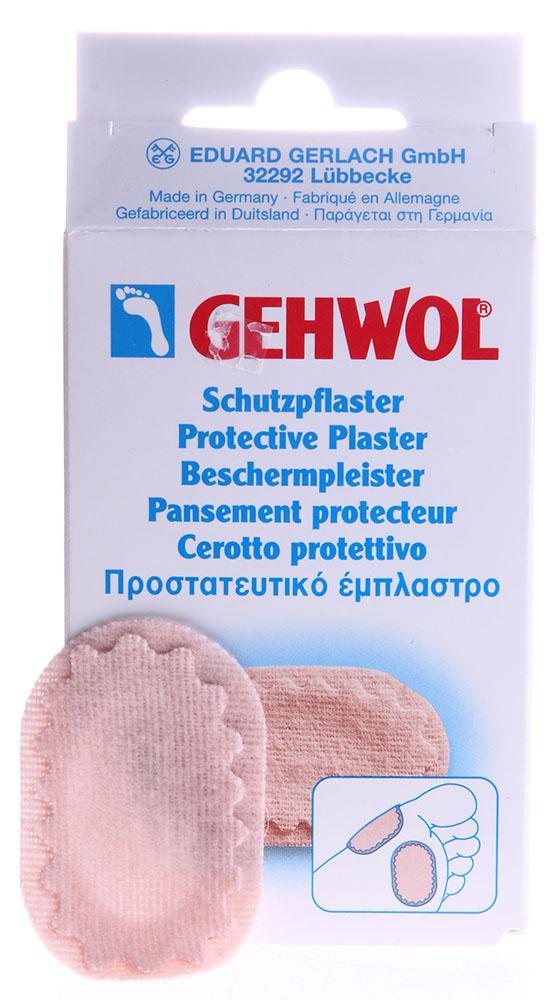 GEHWOL Пластырь защитный овальный 4шт