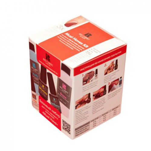 RED CARPET ����� ��� �������� ����-������ � ���������������� ������������ ������ / Gel Polish Pro Kit~