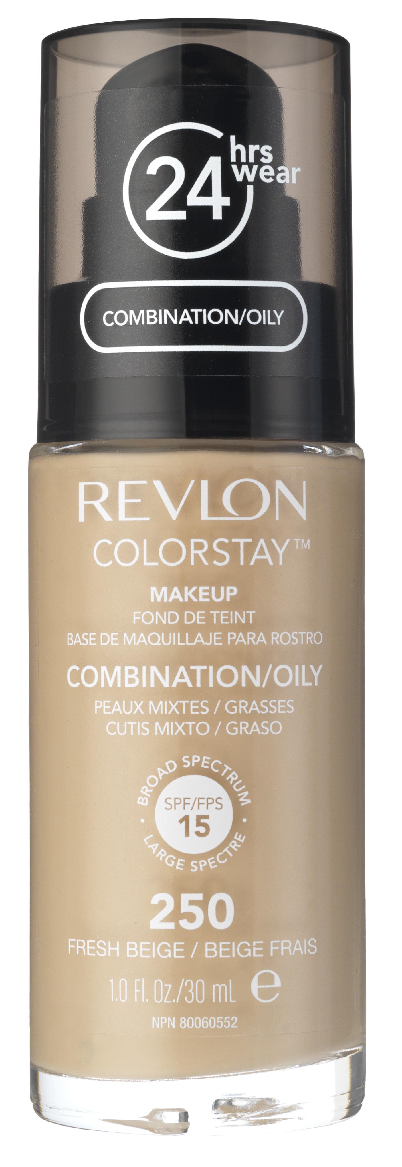 Купить REVLON Крем тональный для комбинированной и жирной кожи 250 / Colorstay Makeup For Combination-Oily Skin Fresh beige 30 мл