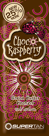 SUPER TAN Активатор загара, шоколадные ягоды / Choco Raspberry Bronzer 15 мл кремы california tan крем для загара в солярии luminouse natural bronzer step 1 15 мл