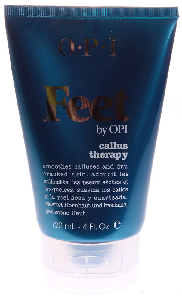 OPI Терапия гиперкератоза / Callus Therapy FEET 118млОсобые средства<br>Благодаря крему Терапия гиперкератоза, ороговевшие участки кожи быстро размягчаются, после чего их легко можно удалить пилкой. Неабразивный состав крема мягко ухаживает и удаляет отмершие клетки. Эпидермис быстро восстанавливается, приобретая мягкость и свежесть. Активные ингредиенты: Масло из косточек дерева ши, натуральные растительные и фруктовые экстракты, витаминный комплекс. Способ применения: Втирать в затвердевшие сухие участки кожи ног ежедневно. При необходимости воспользоваться пилкой для ног OPI.<br><br>Объем: 118