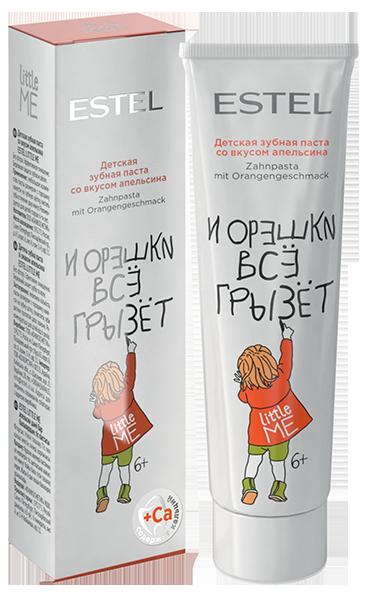 ESTEL PROFESSIONAL Паста зубная детская со вкусом апельсина / LITTLE ME 50 мл