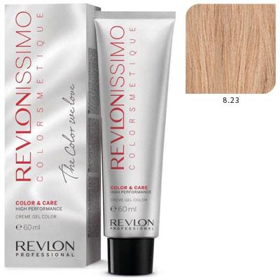 REVLON Professional 8.23 краска для волос, светлый блондин переливающийся золотистый / RP REVLONISSIMO COLORSMETIQUE 60 мл