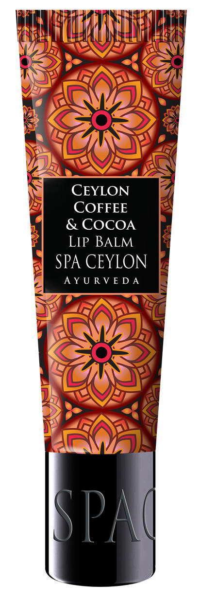Купить SPA CEYLON Бальзам питательный для губ Цейлонский кофе и какао 12 г