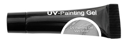 CND Гель-краска УФ / OH UV-Painting Gel Van Silver 5мл