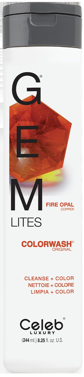 Купить CELEB LUXURY Шампунь для яркости цвета, огненный опал / Gem Lites Shampoo Fire Opal 244 мл