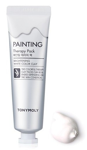 TONY MOLY Маска для лица / Painting Therapy Pack Brightening 30 мл маска tony moly painting therapy pack sebum control объем 30 мл
