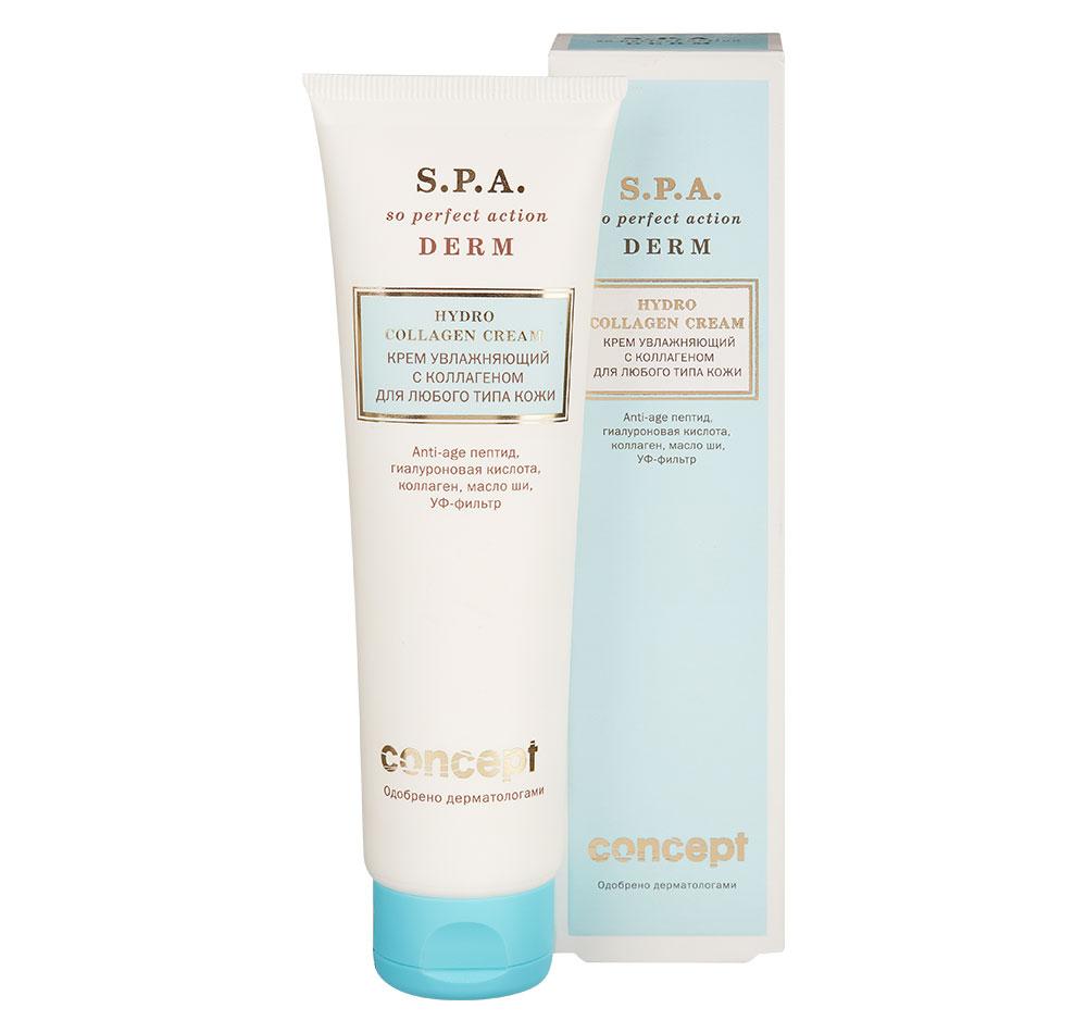 Купить CONCEPT Крем увлажняющий с коллагеном для любого типа кожи / SPA Hydro Collagen Cream 100 мл