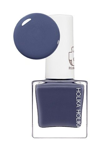 "HOLIKA HOLIKA Лак для ногтей BL02 (светло-синий) ""Пис Мэтчинг"" / Piece Matching Nails (Lacquer) Blue Suede 10мл"