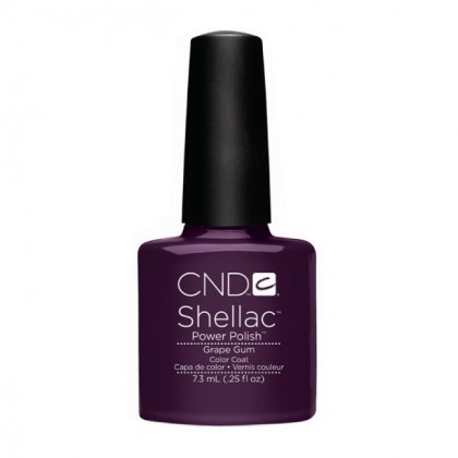 CND 045L покрытие гелевое Grape Gum / SHELLAC 7,3мл cnd гелевое покрытие uv 045 cnd shellac vexed violette 40545 7 3 мл