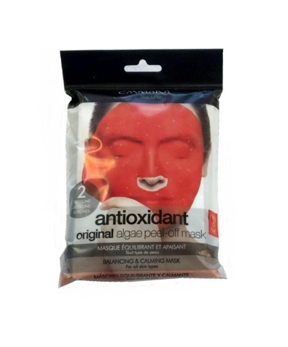 Купить CASMARA Набор Бьюти для лица Антиоксидантный х 2 (успокаивающая антиоксидантная альгинатная маска Баланс 2 шт, крем Баланс для лица 4 мл х 2 шт)