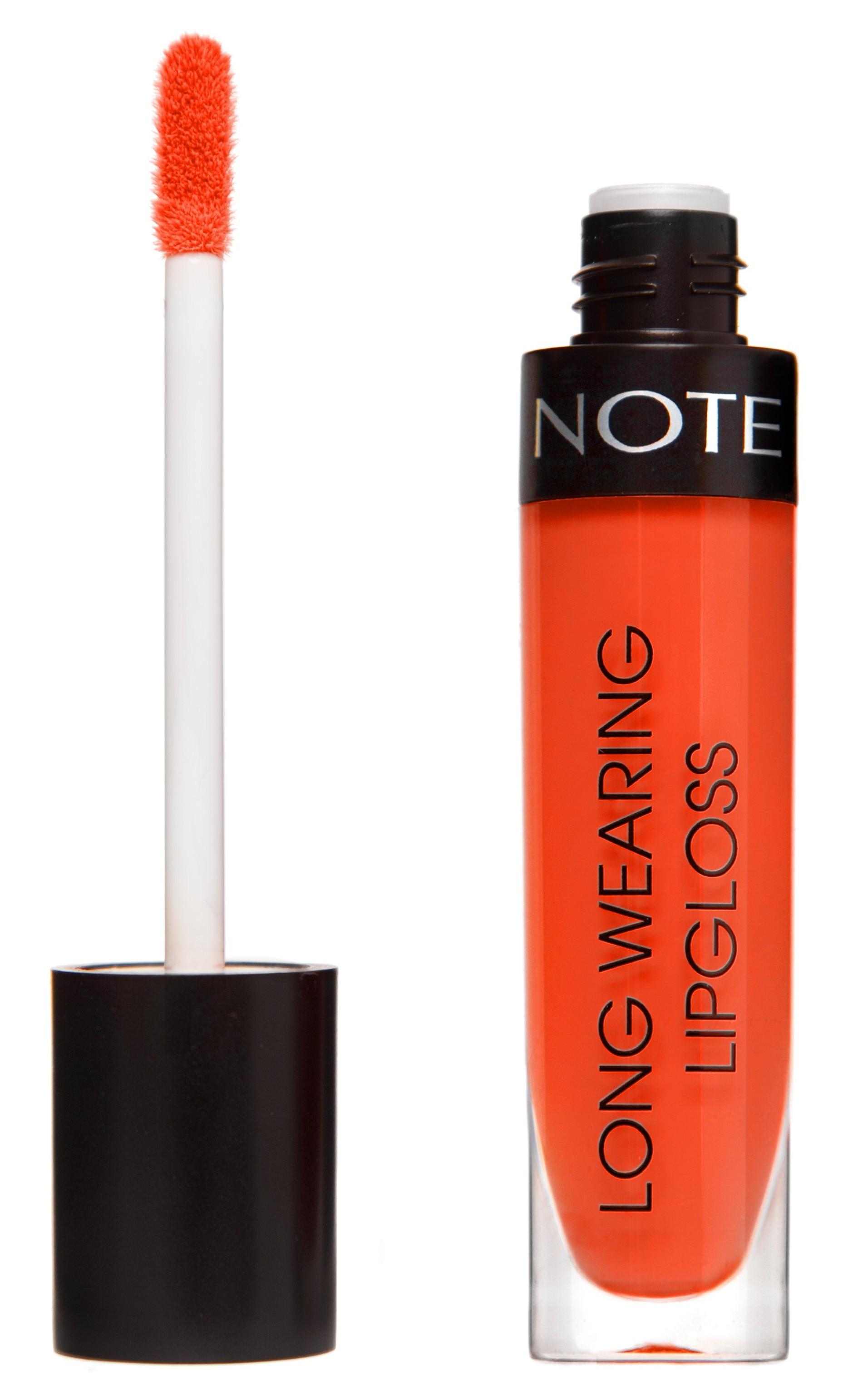 Купить NOTE Cosmetics Блеск стойкий для губ 11 / LONG WEARING LIPGLOSS 6 мл