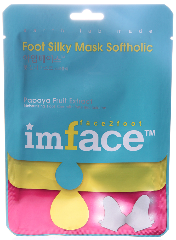 IMFACE ����� ��� ��� / Foot Mask Softholic IMFACE 16��