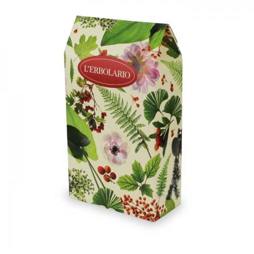 LERBOLARIO Коробка Листья и цветы на 2 продуктаОсобые аксессуары<br>Подарочная коробка на два средства.<br>