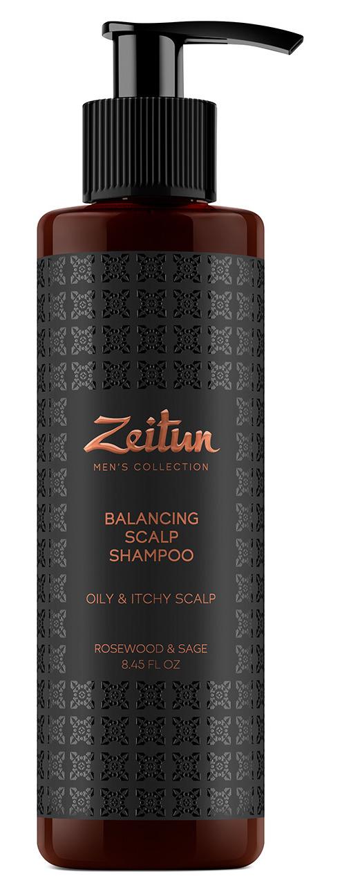 Купить ZEITUN Шампунь балансирующий от перхоти, для мужчин 250 мл