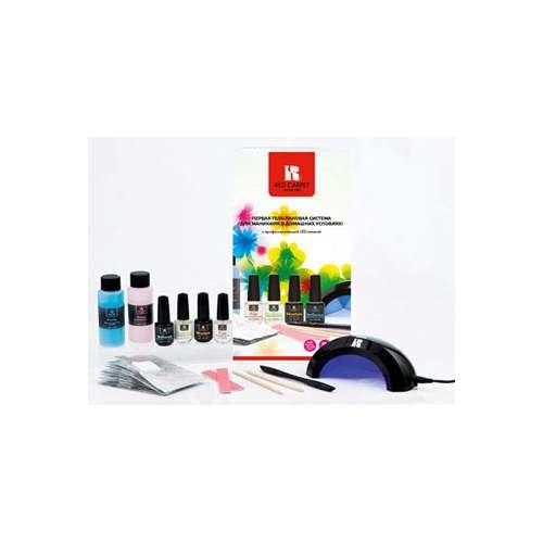 RED CARPET Набор для маникюра гель-лаками с портативной светодиодной лампой / HOLIDAY 2012 Starter Kit~Наборы <br>Набор в подарочной упаковке для маникюра с гель-лаком (OH SO, 9 мл) и портативная LED-лампа для высушивания покрытия.&amp;nbsp; В составе набора:&amp;nbsp; Портативная светодиодная лампа c поворотным световым полотном Portable LED Light Базовое покрытие Structure 9 мл Верхнее покрытие Brilliance 9 мл Обезжириватель Prep 9 мл Масло для ухода за ногтями и кутикулой REVITALIZE Cuticle Oil 9 мл Средство для предварительной очистки ногтя и снятия липкого слоя Purify 60 мл Средство для удаления гель-лакового покрытия Erase 60 мл Цветное покрытие LED Gel Polish (гель-лак 124) 9 мл Дополнительные приятные бонусы входящие в набор:&amp;nbsp; Апельсиновые палочки (2 шт.)&amp;nbsp; Пушер/баф с 2-мя полосками сменных насадок. Многоразовая фольга для удаления покрытия (10 шт.)<br>