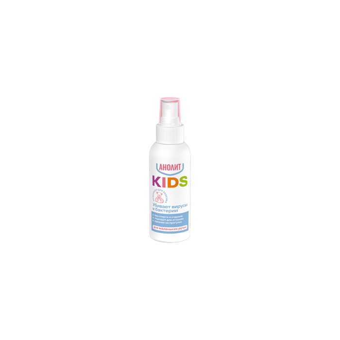Энвиро Лайт Средство дезинфицирующее для кожных покровов с распылителем Анолит / KIDS 100 мл