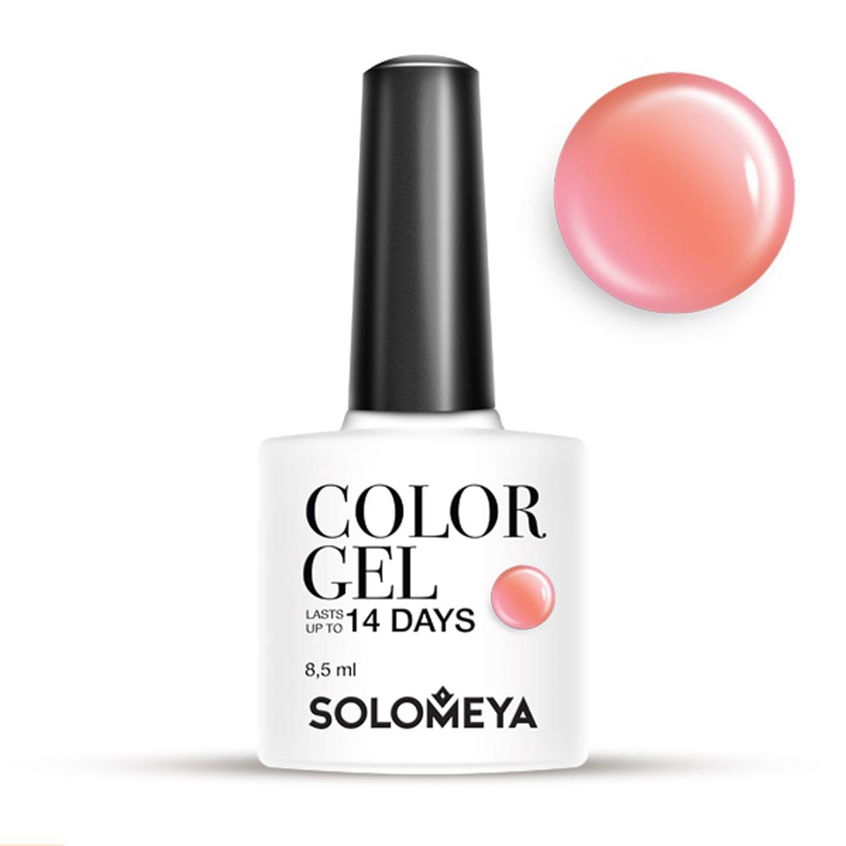 SOLOMEYA Гель-лак для ногтей SCG061 Помадка / Color Gel Fudge 8,5 мл