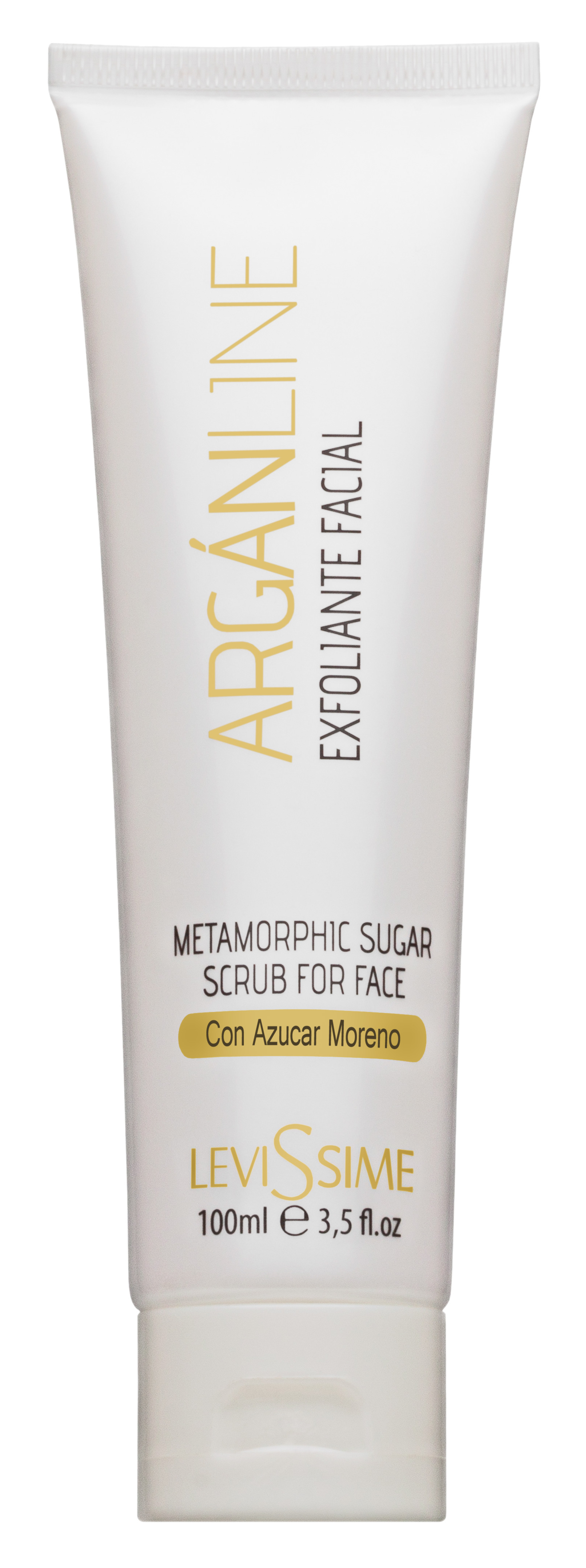 LEVISSIME Скраб сахарный метаморфный для лица / Metamorphic Sugar Scrub for Face 100 мл - Скрабы