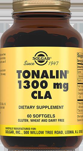 SOLGAR Тоналин 1250/1300 мг КЛК, капсулы № 60