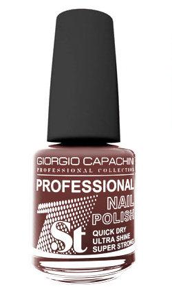 GIORGIO CAPACHINI 57 лак для ногтей розовато-коричневый / 1-st Professional 16 мл.