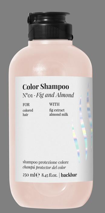 FARMAVITA Шампунь для защиты цвета и блеска волос / BACK BAR COLOR SHAMPOO №01 250 мл