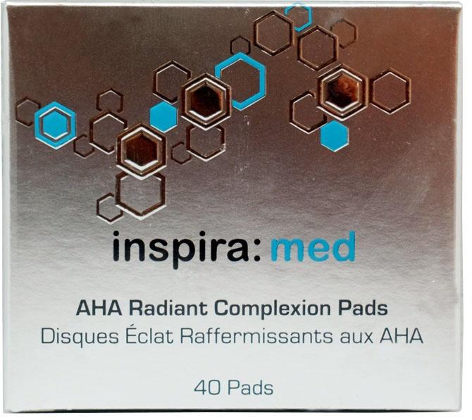 Диски-спонжи с AHA-кислотами для обновления и сияния кожи / INSPIRA MFA Expert+ 40 шт