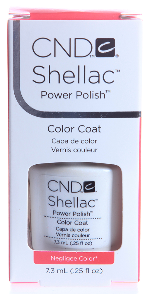 CND 002 покрытие гелевое Negligee / SHELLAC 7,3мл