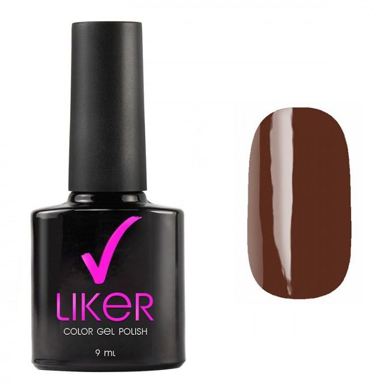 Купить RUNAIL 4503 гель-лак для ногтей / Liker 9 мл, Коричневые