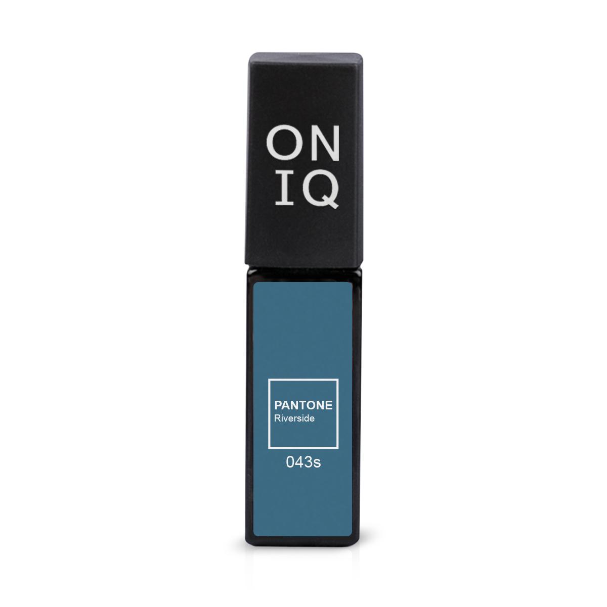 ONIQ Гель-лак для покрытия ногтей, Pantone: Riverside, 6 мл