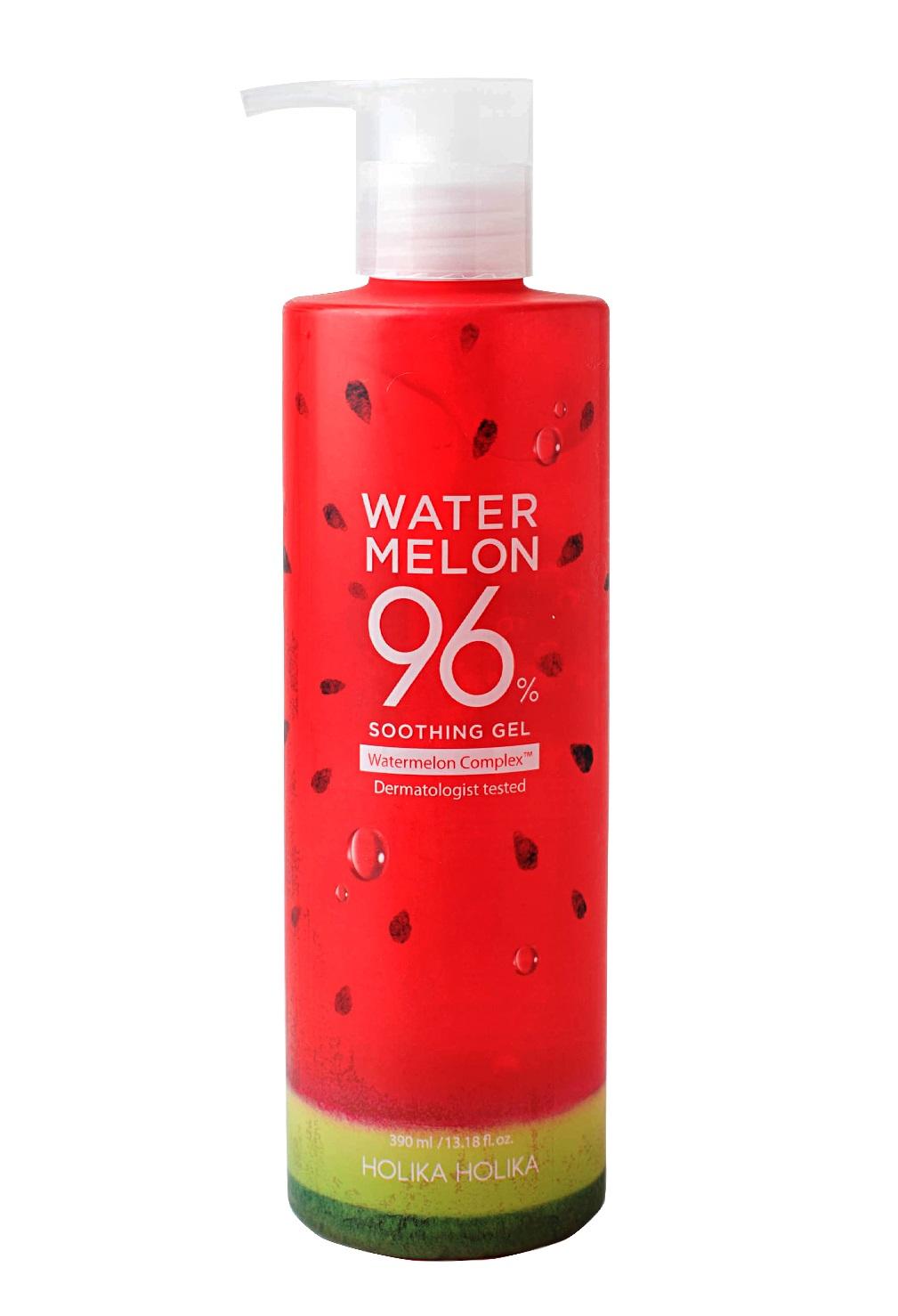 Купить HOLIKA HOLIKA Гель универсальный для лица и тела с экстрактом арбуза / Water Melon 96% Soothing Gel 390 мл