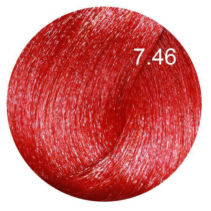 FARMAVITA 7.46 краска для волос, блондин медно-красный / LIFE COLOR PLUS 100 мл